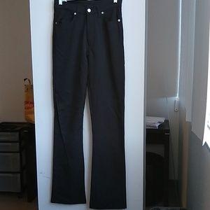 Diesel Nylon Viscose black stretch Jeans, size 29